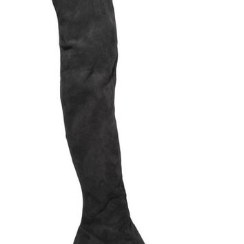 Burberry London - London suede over-the-knee boots