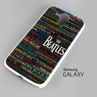 the beatles typography song lyric Samsung Galaxy S3 S4 S5 Note 3 Cases