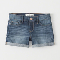 girls Midi Shorts | girls bottoms | Abercrombie.com