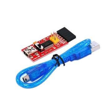 Free shipping FTDI Basic program downloader USB switch TTL FT232 With the FCC certification for arduino