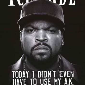 Ice Cube It Was A Good Day Poster 22x34