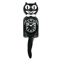 Cartoon Cat Clock