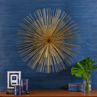 Gold Starburst Wall Art design by Two's Company