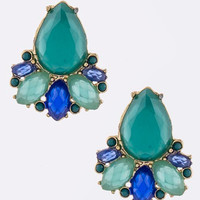 Turquoise Papillon Earrings