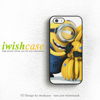 Minion Love Bananas iPhone 5 5S 5C Case Cover