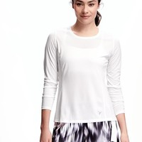 Go-Dry Cool Mesh Running Tee for Women | Old Navy