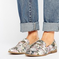 New Look Floral Buckle Loafer at asos.com