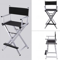 Makeup Artist Director Chair Foldable Lightweight Portable Folding Director Makeup Chair