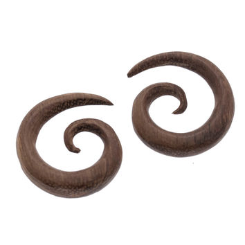 Dark Sono Small Spiral Plugs (2g) #7624