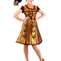 Women's Dalek costume dress