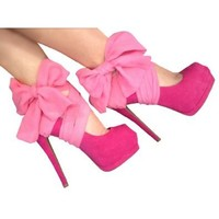 Amazon.com: Heel Condom in Hot Pink: Shoes