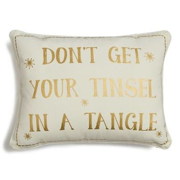 Levtex Don't Get Your Tinsel in a Tangle Accent Pillow | Nordstrom