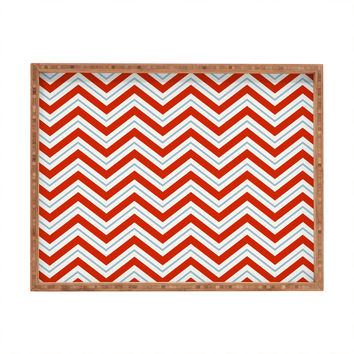 Caroline Okun Peppermint Rectangular Tray