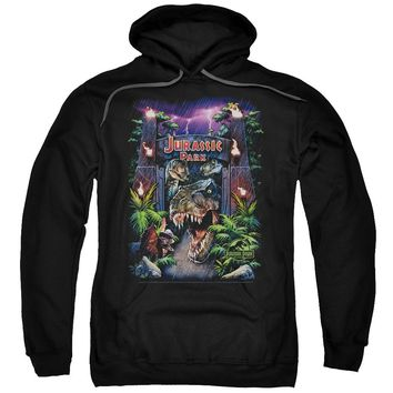Jurassic Park - Welcome To The Park Adult Pull Over Hoodie