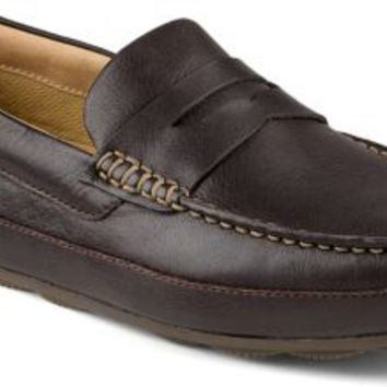 56cab5289 Sperry Top-Sider Hampden Penny Loafer DarkBrown, Size 12M Men's