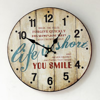 Vintage Home Decoration Quiet Clock [6451856262]