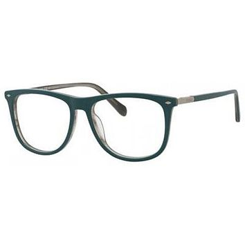 Fossil - Fos 7030 Havana Green Eyeglasses / Demo Lenses
