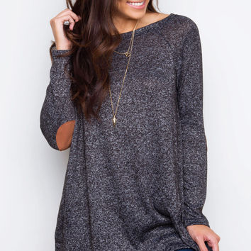 Blaire Top - Charcoal