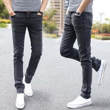 Men Jeans Slim Fit Skinny Denim Jeans Designer Brand Elastic Straight  Jeans Stretch Trousers Jeans for Men