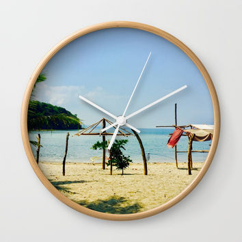 Beachfront Wall Clock by Jenna C.