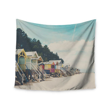 "Laura Evans ""Small Spaces"" Beach Coastal Wall Tapestry"