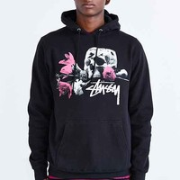 Stussy Offering Pullover Hooded Sweatshirt- Black