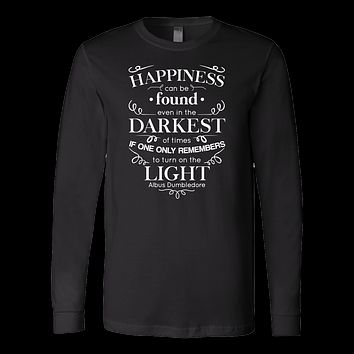 Family - Happiness Can Be Found Even In The Darknest Of Time - Men Long Sleeve T Shirt - TL00774LS
