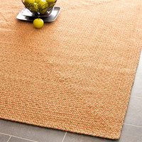Braided Collection Area Rug in Orange and Beige design by Safavieh