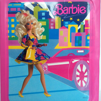 Vintage Barbie Trunk 1989