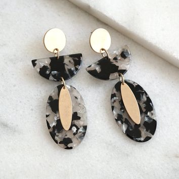 Statement Resin earrings