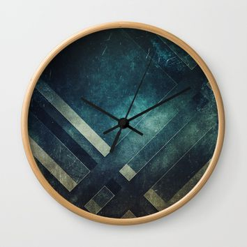 Dreaming in levels Wall Clock by Kardiak | Society6