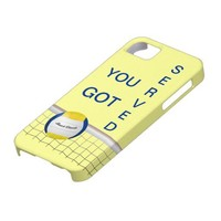 YOU GOT SERVED -  VOLLEYBALL iPhone 5 Case from Zazzle.com