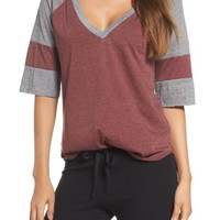 Chaser Colorblock Jersey Tee | Nordstrom