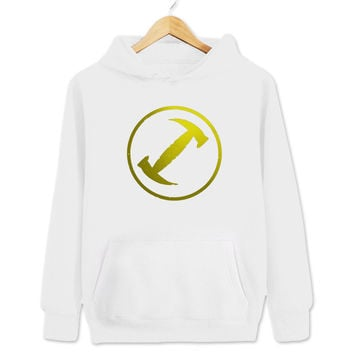 Stonecutters The Simpsons Homer the Great Women's & Men's Unisex Casual White Pullover Hoodie