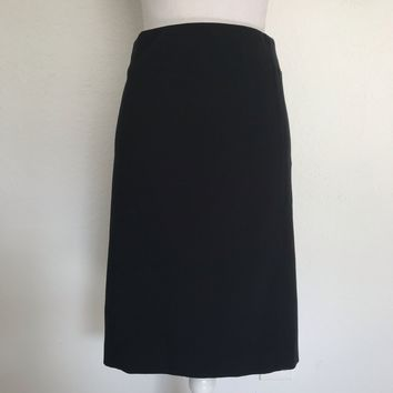 J JILL PONTE Women's Plus Size XL Black Stretch Pencil Skirt