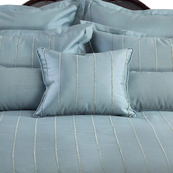 Veratax Home Decorative Bedding Collection Braxton Euro Sham Mineral
