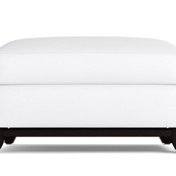 Marco Ottoman in PURE WHITE - CLEARANCE
