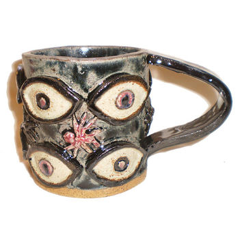 Eye Coffee Cup (16) With Ants