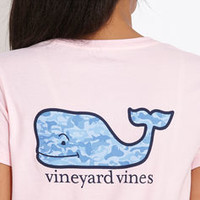 Women's Tees: Camo Whale Tee for Women - Vineyard Vines