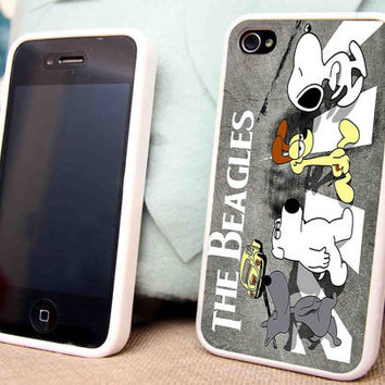 The Beagles for iPhone 5 5C 5S iPhone 4/4S Samsung Galaxy S3 S4 case
