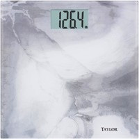 Taylor Digital Scale With Real Artwork For Platform Design (gray Marble)