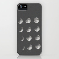 phases of the moon iPhone Case by Sara Eshak | Society6