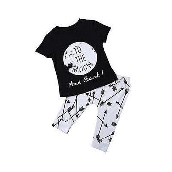 Abacaxi Kids To the Moon and Back Outfit 6M-24M