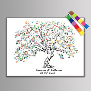 Festival Personalize Wedding Souvenirs Guest Book