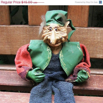 20% OFF SUMMER SALE Handmade Doll Troll