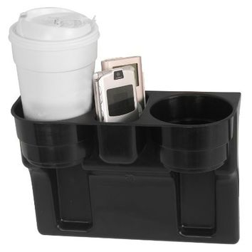 Custom Accessories 91125 Black Seat Wedge Cup Holder | AihaZone Store
