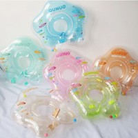 Baby Swimming Ring Kids Inflatable Pool Toys Boy Girl Swimming Neck Ring Safety Inflatable Swimming Circle Random Color JF0027 smileseller