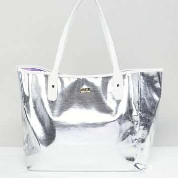 Ban.Do Silver Tote Bag at asos.com