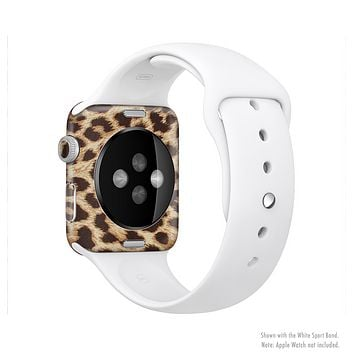 The Simple Vector Cheetah Print Full-Body Skin Set for the Apple Watch