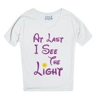 At Last I See The Light-Unisex Snow T-Shirt